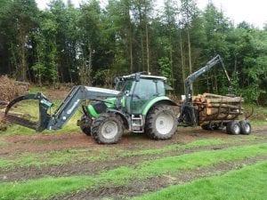 timber harvesting edinburgh