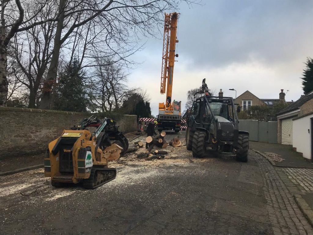 crane and forwarded in edinburgh